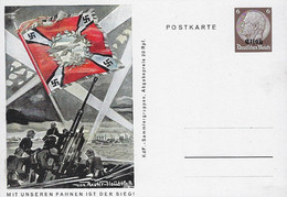 Europa - Allemange - Empire - Deutschland III Reich - Postkarte  Mit Unseren Fahnen Den Sieg - Bezetting 1938-45