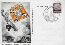 Europa - Allemange - Empire - Deutschland III Reich - Postkarte  Mit Unseren Fahnen Ist Der Sieg  1941 - Bezetting 1938-45