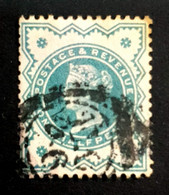1900 Queen Victoria, 1/2P, Great Britain, England, *,**, Or Used - Used Stamps