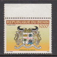 2008 Benin 5000F Definitive High Value Armoirie Coat Of Arms Leopards DIFFICULT MNH  ** TRY AND FIND THIS ONE!*** - Benin – Dahomey (1960-...)
