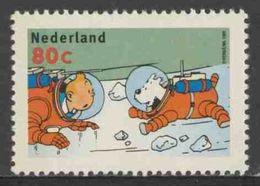 Nederland Netherlands Pays Bas 1999 Mi 1737 Y ** Tintin And Snowy Wearing Space Suits / Tim Und Struppi Mit Raumanzügen - Cinema