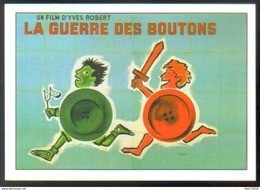 Carte Postale : La Guerre Des Boutons (cinéma Affiche Film) Illustration Savignac - Manifesti Su Carta