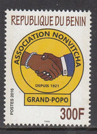 2016 Benin  Festival Of Nonvitcha Culture Grand Popo  Complete Set Of 1 MNH - Benin – Dahomey (1960-...)