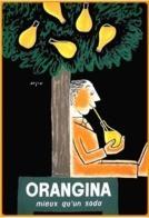 Carte Postale : Orangina, Mieux Qu'un Soda (affiche) Illustration : Savignac - Savignac