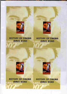 Turkmenistan 1999 History Of The Cinema Uncut Imperforate Proof Sheet James Bond S/sheets, U/m And Scarce With Less Than - Turkménistan