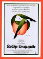 Carte Postale - Illustration : Léo Kouper (film Affiche Cinéma) Goodbye Emmanuelle (pomme) - Posters On Cards