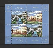Feuillet Bosna  Europa Neuf ** N 657 / 658 - 2012
