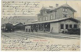 DEUTSCHLAND - SEHR SELTEN - WÜRBENTHAL BAHNHOF - 1904 - Sudeten
