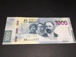 MEXICO NLP 1000 Pesos 6.1.2021 #AK   UNC. - Mexique