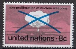 UNITED NATIONS New York 243,unused - Neufs