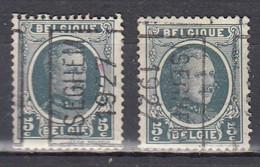3977 Voorafstempeling Op Nr 193 - ISEGHEM 1927 - Positie A&B (zie Opm) - Roller Precancels 1920-29