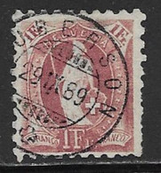 Switzerland Scott # 93 Used Helvetia Perf 9 1/2 Wmk Type L, 1888, CV$115.00, Some Short Perfs - Usati