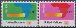 UNITED NATIONS New York 260-261,unused - Neufs