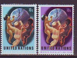 UNITED NATIONS New York 275-276,unused - Neufs