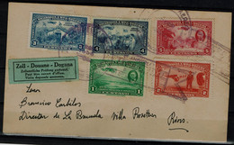 NICARAGUA  1939 REGISTERED COVER FLIGHT IN 1939 VF!! - Nicaragua