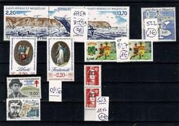 SAINT PIERRE MIQUELON 495A 522 827 553 - Collections, Lots & Séries
