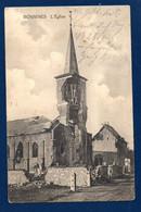 Namur. L'église De Boninne ( Bonnines) Bombardée Le 21 Août 1914. Feldpost Langenfeld (Rheinland). Mai 1915 - Namur