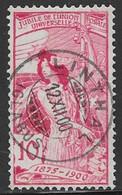 Switzerland Scott #102 Used UPU Allegory,reengraved, 1900, CV$57.50 - Usati