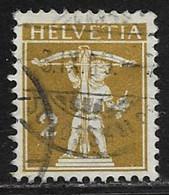 Switzerland Scott #149 Used William Tell's Son, 1910 - Used Stamps