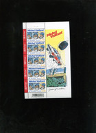 Belgie 2005 3350 Michel Vaillant Comics Bd Strips Velletje Plaatnummer 1 MNH - Feuillets
