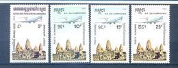 CAMBODIA SET AVIATION 1986   MNH - Cambodia