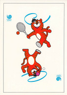 Germany Postal Stationary Sehenswürdigkeiten W/print 1988 Seoul Olympic Games Posted Marsberg 1988 Tischtennis - Summer 1988: Seoul