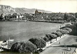 CPSM Genève-Quai-Beau Timbre     L953 - GE Geneva
