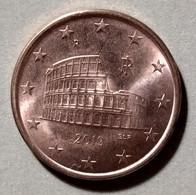 2019  - ITALIA REPUBBLICA  -  MONETA IN EURO - DEL VALORE DI 5  CENTESIMI  - USATA - Italie