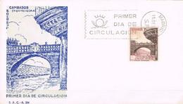 [C0565] España 1965, FDC Turismo. Puente De Cambados (NS) - FDC