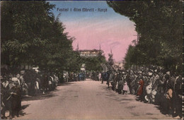 ! Korce Ansichtskarte, Albanien, Albania - Albanie