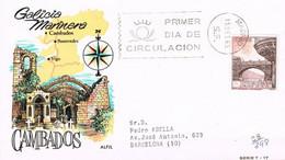 [C0566] España 1965, FDC Turismo. Puente De Cambados (SU) - FDC