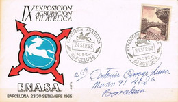 [C0567] España 1965, FDC Turismo. Puente De Cambados (SU) - FDC