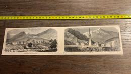1859 Ill1 Gravure Saint Jean De Maurienne Modane - Sin Clasificación