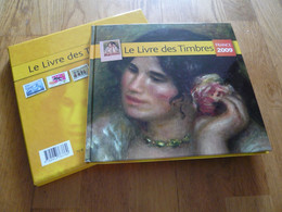 LE LIVRE DES TIMBRES FRANCE 2009  AVEC  LES TIMBRES COMPLET - Altri Libri