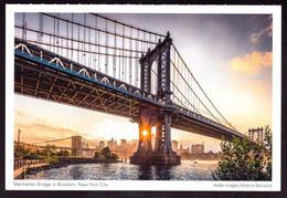AK 000586 USA  - New York City - Manhattan Bridge In Brooklyn - Ponts & Tunnels