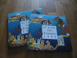 LE LIVRE DES TIMBRES FRANCE 1995 AVEC  LES TIMBRES COMPLET - Altri Libri