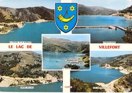48 - Villefort - Le Lac - Multivues - Villefort