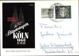 CPA Köln Am Rhein, Bundeskegeln 1960 Deutscher Kegler Bund, Sonderpostkarte - Zonder Classificatie