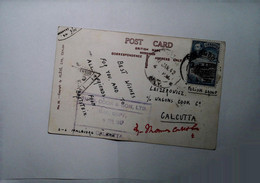 H 6 Lettre/document  1942 CARTE POSTALE  Groupe Polonais - Sri Lanka (Ceylon) (1948-...)