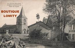 23 St Saint Merd La Breuille Place De L' Eglise Cachet Obliteration St Merd 1926 - Other Municipalities