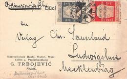 FIUME - POSTCARD 1921 > LUDWIGSLUST/DE / GR99 - Fiume