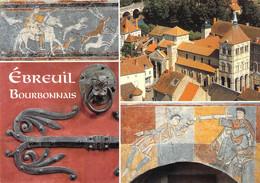 03 - Ebreuil - L'abbatiale Saint Léger - Multivues - Altri Comuni