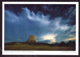 AK 000674 USA  - Wyoming - Wolkenhimmel Am Devils Tower - Other