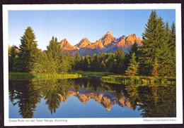 AK 000676 USA  - Wyoming - Snake River Vor Der Teton Range - Other