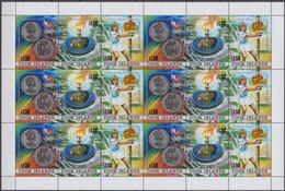 Cook Islands 26.04.1988 SHEET Mi # 1256-58, Seoul Summer Olympics, Steffi Graf MNH OG - Summer 1988: Seoul