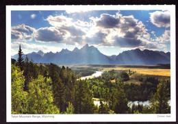 AK 000677 USA  - Wyoming -  Teton Mountain Range - Other