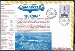 """DIRIGIBILE EUROPA - BUSTONE COMMEMORATIVO (20 X 13,50) AFFRANCATO CITTA' DEL VATICANO *17.OTT.1973"""" - Andere (Lucht)"""