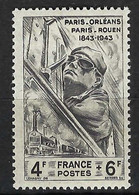 FRANCE 1944: Le Y&T 618 Neuf** - 1927-1959 Mint/hinged