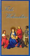 """BRD Amtl. GZS Sonderpstkarte """"Weihnachten"""" PSo 56/01  """"WSt 100+50(Pf) Besuch Der Hirten"""", SSt 9.12.1998 BERLIN ZENTRUM - Cartes Postales - Oblitérées"""