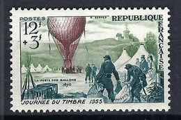 FRANCE 1955: Le Y&T 1018 Neuf** - 1927-1959 Mint/hinged